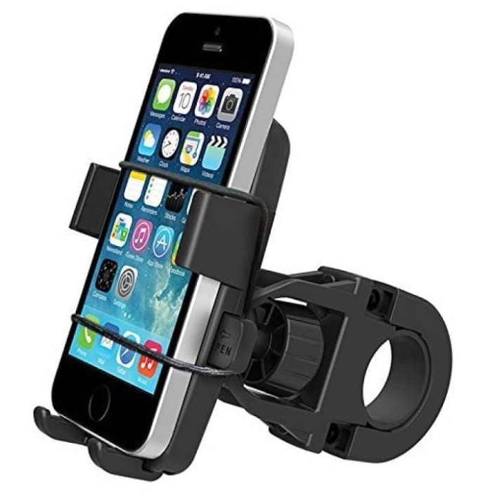 ... harga Holder bracket handphone dan gps sepeda dan motor dengan tali pengaman Tokopedia.com