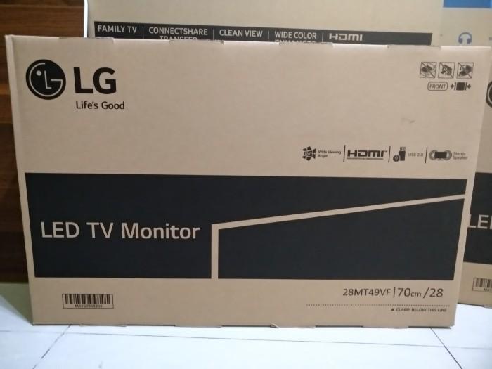 Led tv LG 28 inch LG 28MT49VF Monitor TV LED Harga Rp  1 810