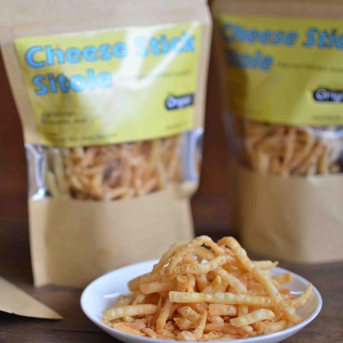 Jual Cheese Stick Sitole Makanan Ringan Cemilan Enak Snack