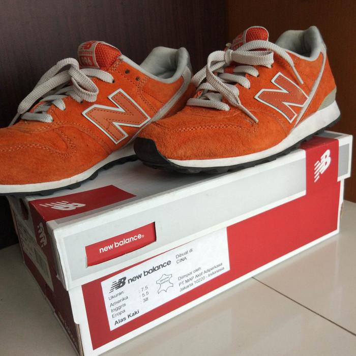 uk availability 1ab58 8ffb2 Jual New Balance 996 Orange Suede - DKI Jakarta - Toko Meonk | Tokopedia