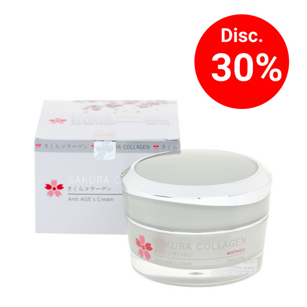 Sakura collagen anti age`s cream 30g (1 pc)