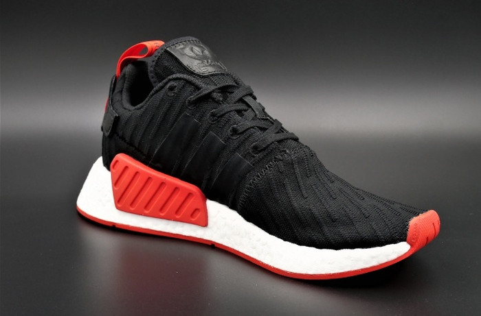 size 40 6ff55 a74fb Jual Adidas NMD R2 Black Red Grade Original - Jakarta Utara - Merinshop    Tokopedia