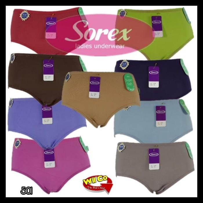 6 Pcs Celana Dalam Wanita Pinlei Art 2908 Size L Xl Xxl Xxxl Warna ... 958eb451aa