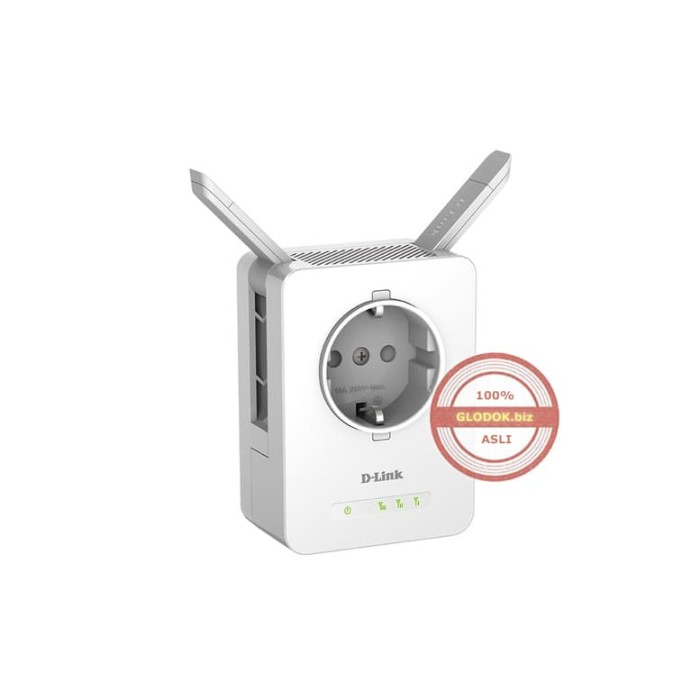 D-Link DAP-1365 Wireless Range Extender N300 AC Pass Through Smart LED