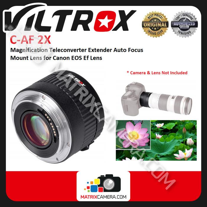 Foto Produk Viltrox C-AF 2X Teleplus Teleconverter Extender for DSLR Canon EF Lens dari MatrixCamera