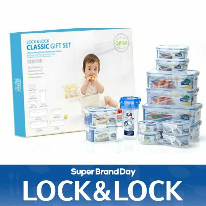 Lock&lock big gift set 13 in 1 / lock n lock / locknlock / lock & lock