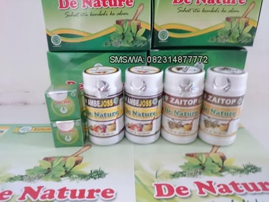 Foto Produk Obat Wasir Ambeien Herbal Ampuh DE NATURE Zaitop Ambejoss Salwa Ampuh dari Pusat De Nature Herbal