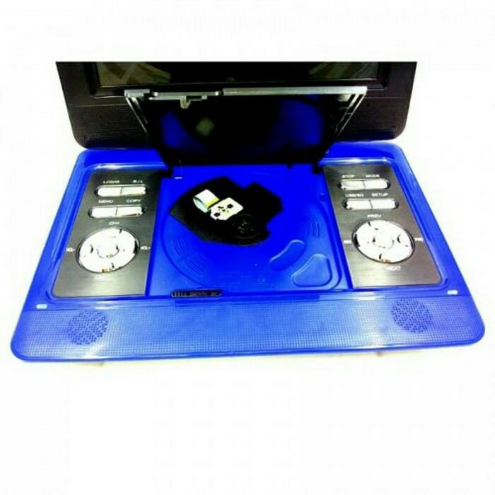 DVD portable tori TPD 909 new series 10 inch lensa sanyo