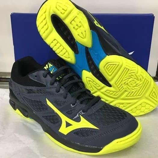 Jual Sepatu Badminton Volly Mizuno Thunder Blade Original Kab