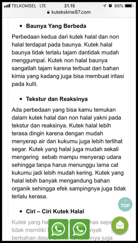 Jual Produk Terlaris Nail Art Kutek Halal Muslimah Kid Friendly Warna Harga Rp 49000