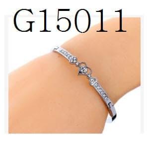 Gelang Wanita Model Emas Putih Berlian G13 Limited