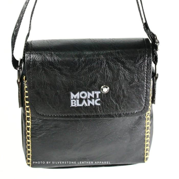 Jual Best Seller Tas Kulit ASLI Mont Blanc Tas Selempang Kulit Tas ... 37c22df3ca