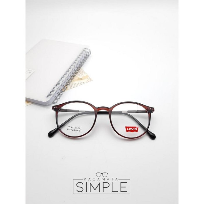 Jual Frame Kacamata Minus Wanita   Pria LVS TR 2126 - 4 - Kacamata ... e0961aa549