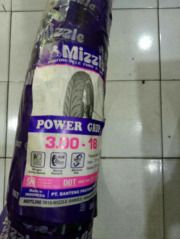 Jual Ban Mizzle 300 18 Power Grip Tanpa Ban Dalam Harga Rp 182000