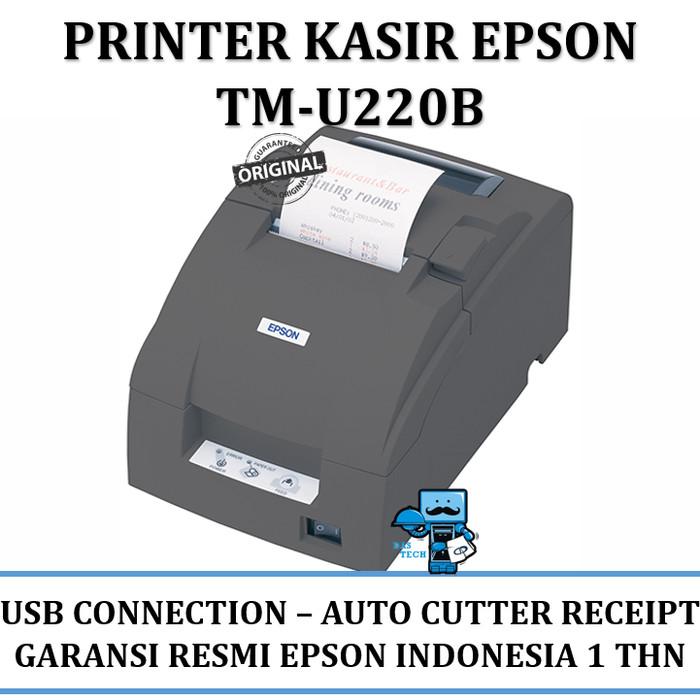 Jual Printer Epson TMU220 (TM-U220B) USB Connection Auto Cutter Receipt -  Jakarta Pusat - Das Livia Computer   Tokopedia