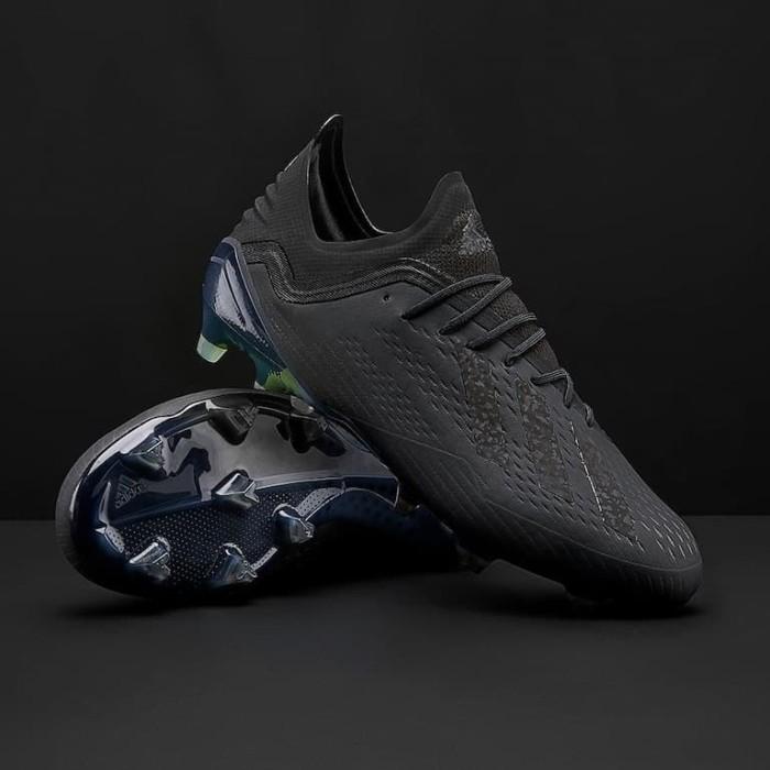 Jual Sepatu Bola Adidas Original X 18 1 Fg Black Db2248 Kab