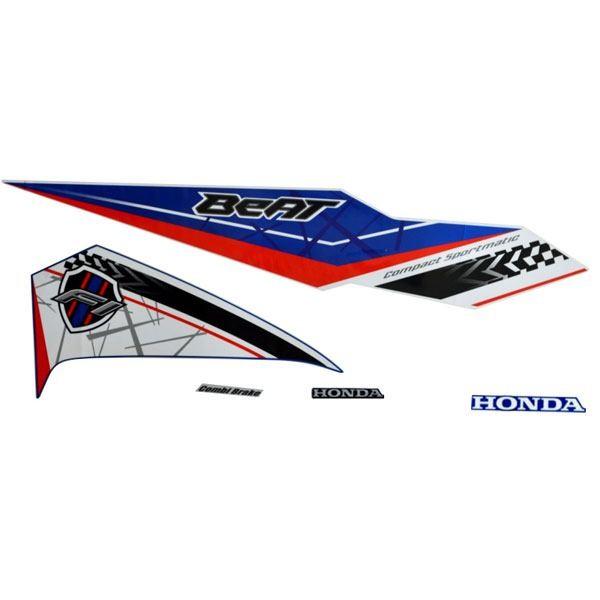 Foto Produk Sticker Body Kanan Biru Putih – New BeAT eSP 871X0K81N10ZBR dari Honda Cengkareng