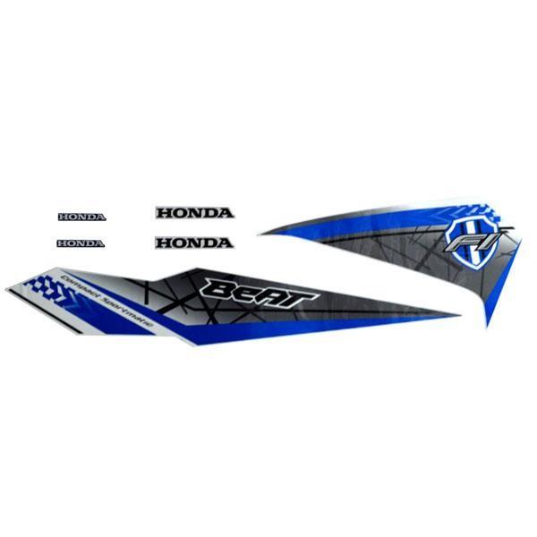 Foto Produk Sticker Body Kiri Putih – New BeAT eSP 871X0K81N00ZEL dari Honda Cengkareng