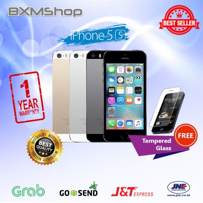 Jual REFURBISHED APPLE IPHONE 5S-64 GB GOLD GARANSI DISTRIBUTOR 1 ... e8e558c266