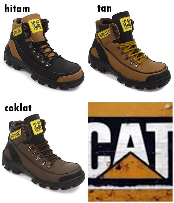 Jual Sepatu Pria Caterpillar Safety MBC Murah Original hanmade ... fda7efe19a