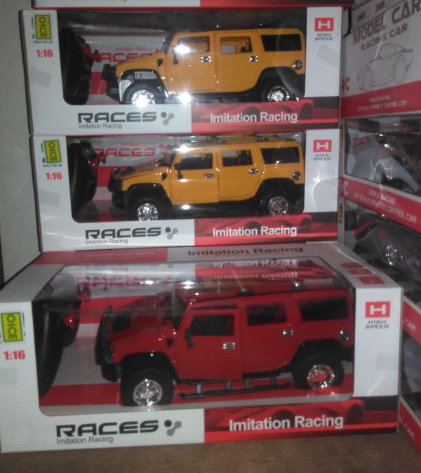 Foto Produk MAINAN ANAK RC RACES HUMMER 1:16 dari nambeng toys