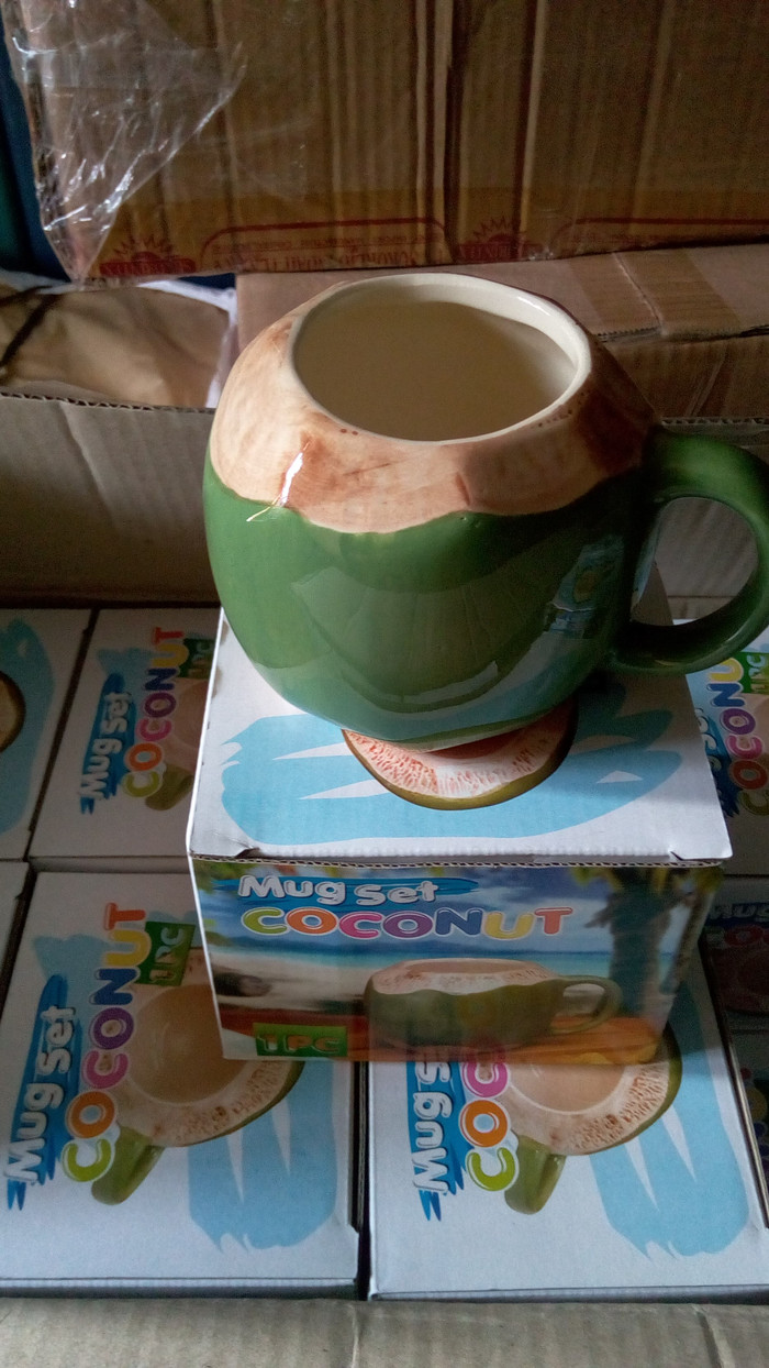 Jual Cangkir Kelapa Mug Coconut Jakarta Barat Toko Eka Utama