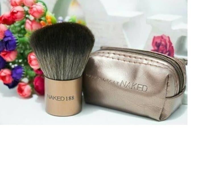 harga Kabuki naked 188 brush dompet - kuas dompet koin ( make up kit )