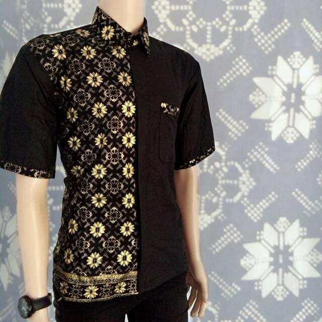 61 Model Baju Batik Pria Pendek Paling Unik