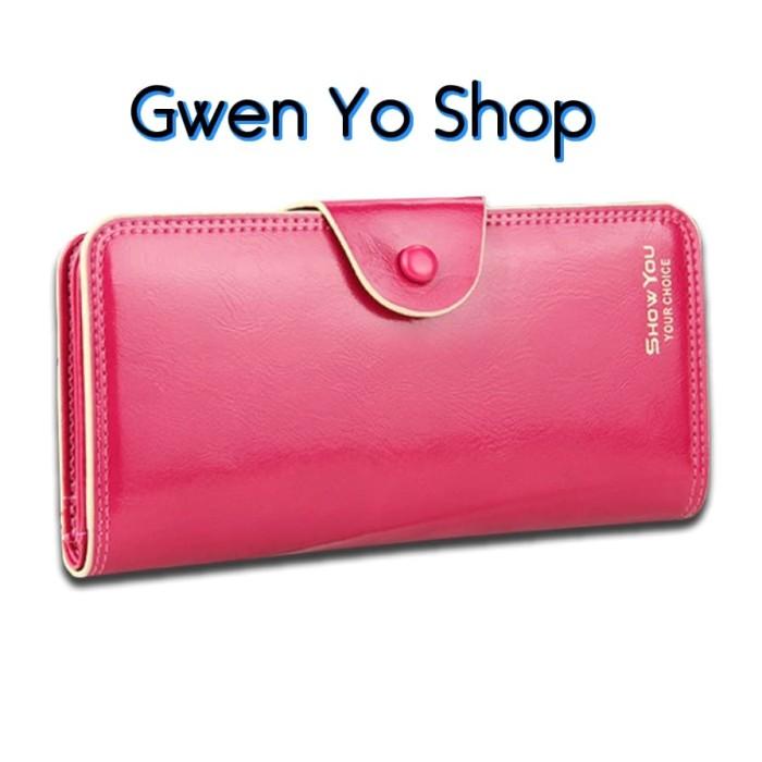 Dompet Cewe Panjang IMPOR 4208 Fashion Korea Women Wanita Long Wallet