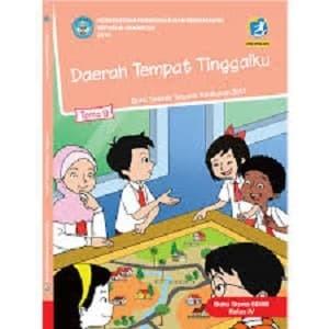 Buku Tematik SD Kelas 4 Tema 8; Daerah Tempat Tinggalku Revisi 2017