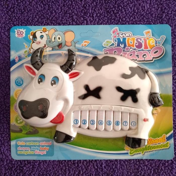 harga (murah) animal fun music piano - mainan edukasi bayi piano anak Tokopedia.com