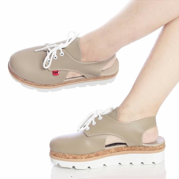 harga Afina26 ithoart - original sepatu sandal wedges wanita lee slop tali Tokopedia.com
