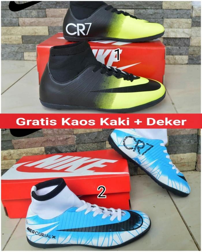 ... harga Sepatu futsal nike mercurial cr7 high impor bft Tokopedia.com 4f8b42dade