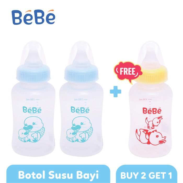 harga Bebe botol susu bayi eco pp 150ml platypus type 1 - buy 2 get 1 Tokopedia.com