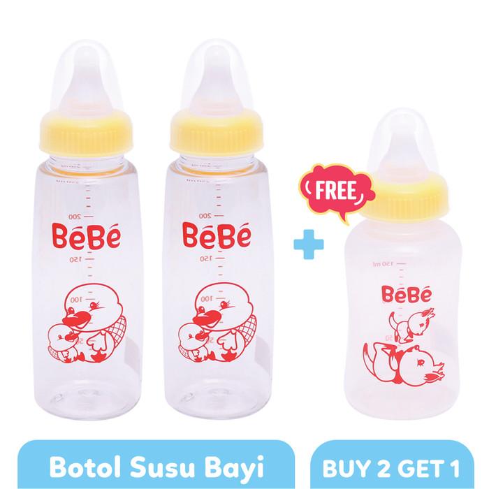 harga Bebe botol susu bayi eco pc 250ml platypus type 1 - buy 2 get 1 Tokopedia.com