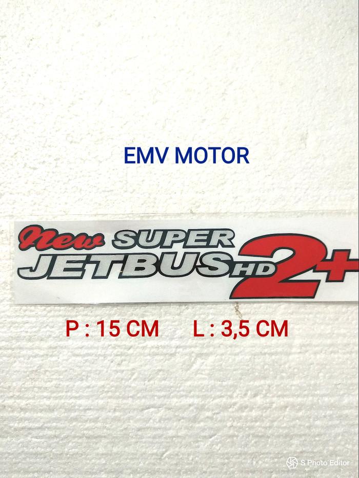 Jual Sticker Super Jetbus Nyala Kota Bekasi Emv Motor Tokopedia
