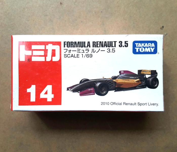 harga Tomica takara tomy no 14 - formula renault 3.5 hitam Tokopedia.com