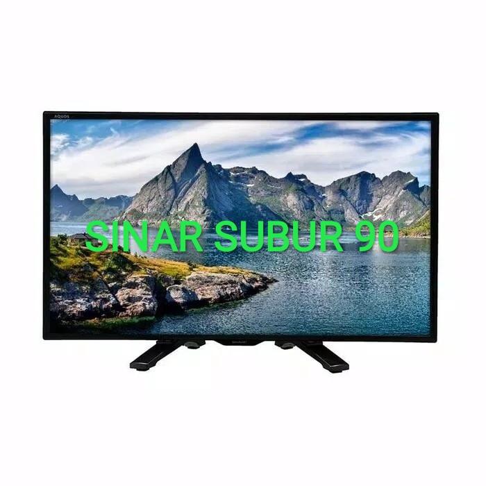 Led tv sharp 24inch lc-24le175i usb movie hdmi