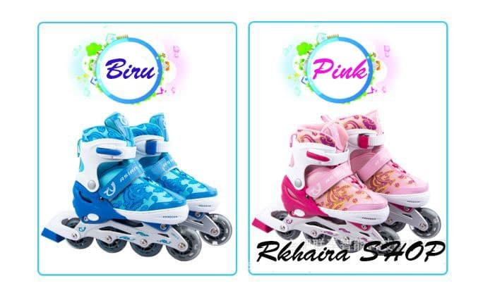 harga Sepatu roda anak full set (body&knee protecktor helm) / inline skate Tokopedia.com