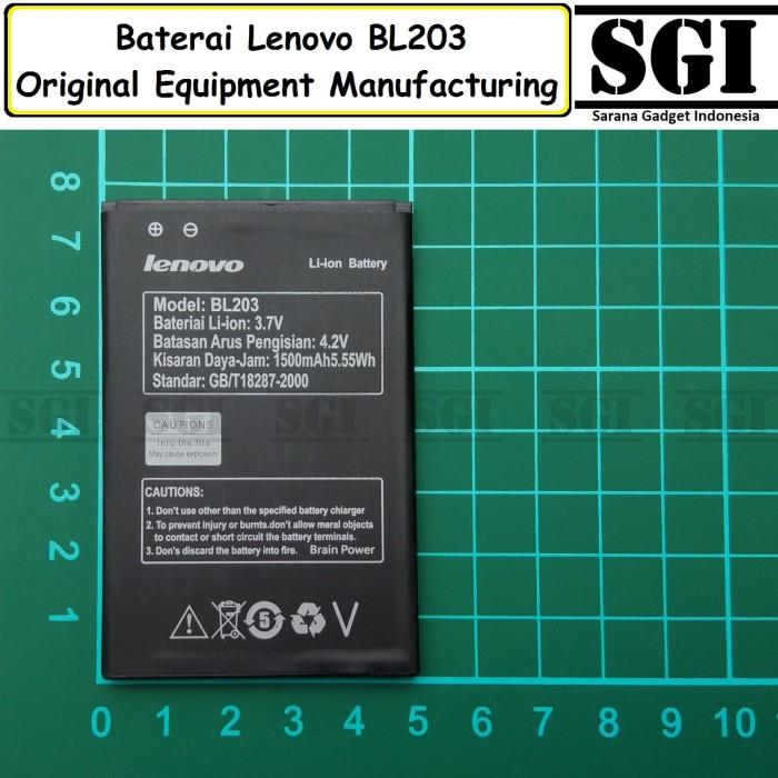 harga Baterai handphone lenovo bl203 a369 a369i original oem batre batrai hp Tokopedia.com