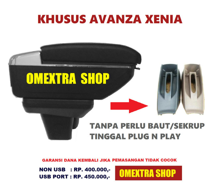 harga Armrest box avanza xenia usb 7port bundle base console Tokopedia.com