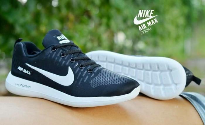 Sneaker Nike Air Max zoom grade ori Vietnam murah sepatu olahraga pria -  Hitam 8fe5d8239