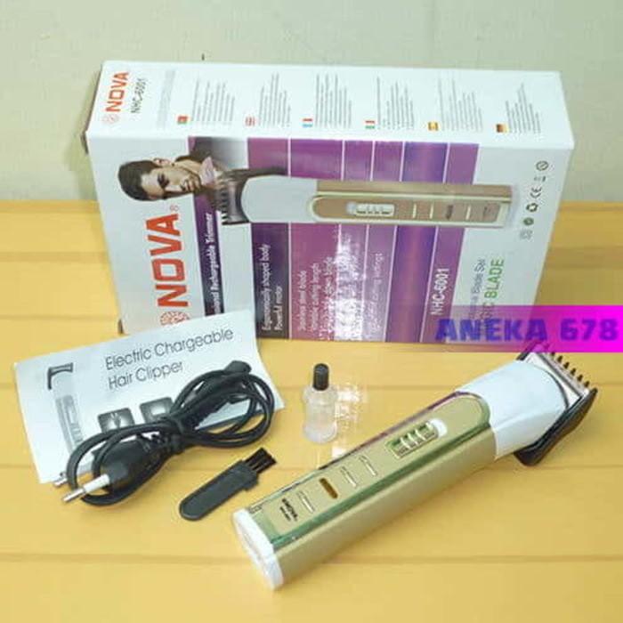BEST SELLER - ALAT CUKUR RAMBUT ELEKTRIC NOVA NHC 6001 - HAIR CLIPER N 826b21e377