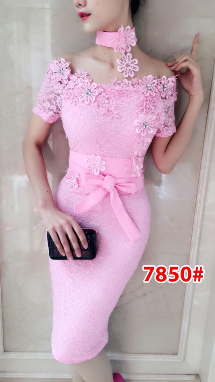 harga Dress brukat import murah|baju import wanita|7850a Tokopedia.com