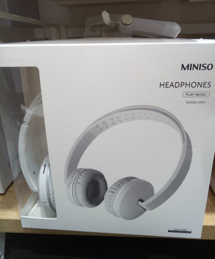 a618d7b8b1b Jual Miniso Portable Wireless Headphones Bluetooth - Jakarta Barat ...