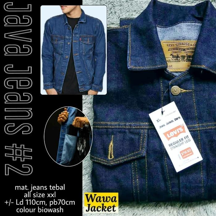 Jual jaket jeans levis atau dilan Kota Surakarta GRIYA AZIIZAH
