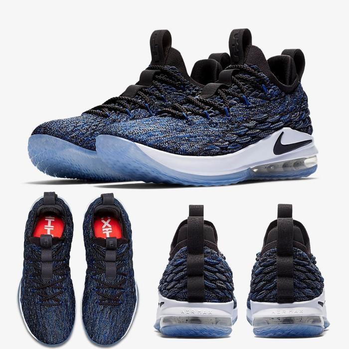 c9b8b82fa58 Jual Nike LeBron 15 XV Low Signal Blue - Kab. Tangerang - Sneakers ...