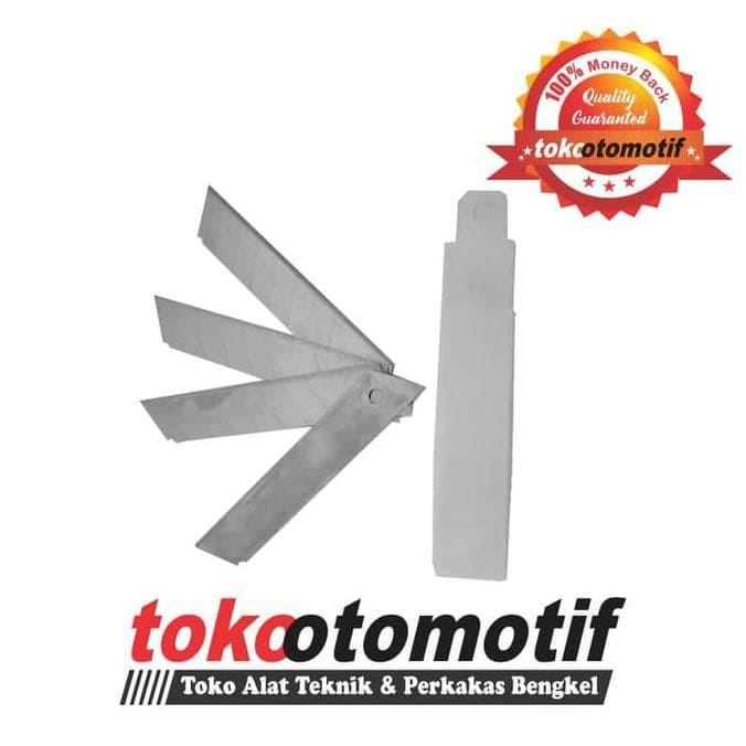 Pisau Cutter Plastik Rubber + Isi 5 Pcs (179-02) NANKAI Top Brand