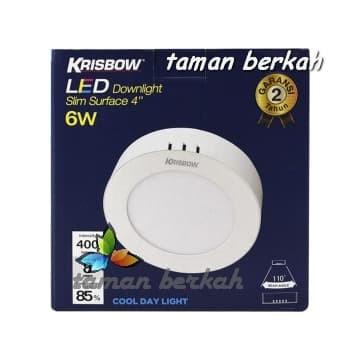 Jual Krisbow Lampu Downlight Led 6 W Cool Daylight Kota Bekasi Taman Berkah Os Tokopedia