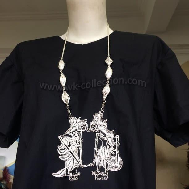harga Kalung wayang rama shinta model krawangan-sepuh perak (wn2b) Tokopedia.com